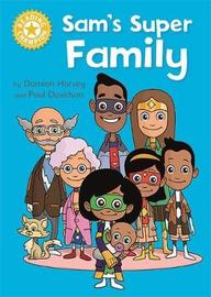 Reading Champion: Sam's Super Family by Damian Harvey