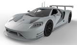 Scalextric: PR Ford GT GTE #69 - Slot Car