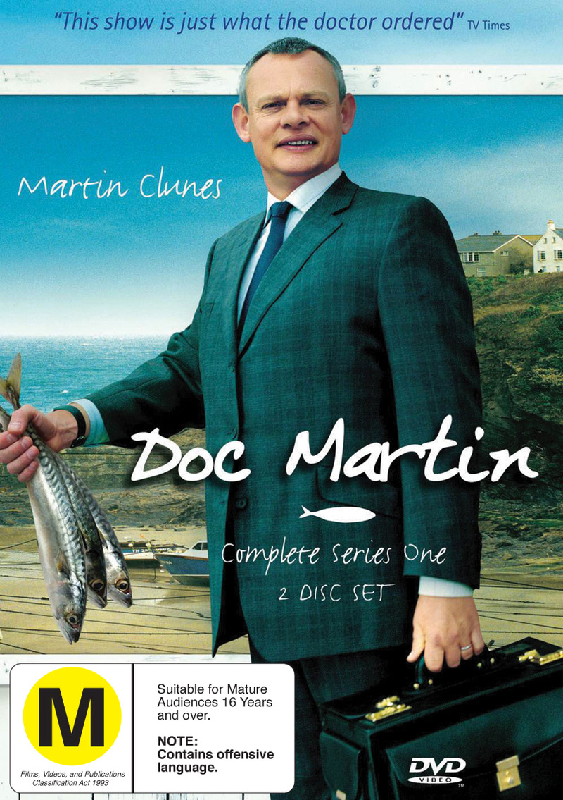 Doc Martin - Complete Series 1 (2 Disc Set) on DVD image