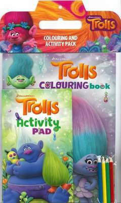 Dreamworks Trolls: Colouring and Activity Pack image