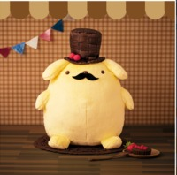 Pom Pom Pudding: Chocolate & Berry Hat Plush