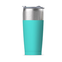 Asobu Tied Insulated Tumbler - Turquoise (600ml)