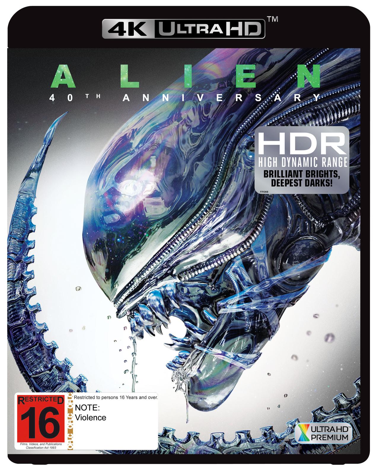 Alien on UHD Blu-ray image