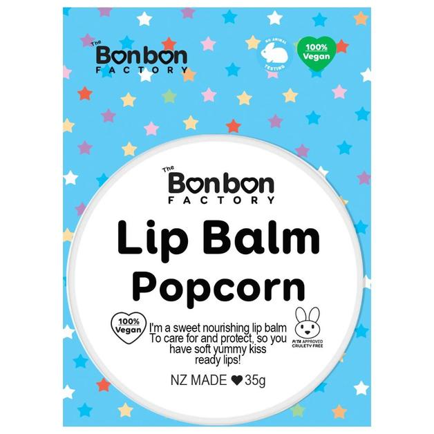 The Bonbon Factory - Popcorn Lip Balm (35g)
