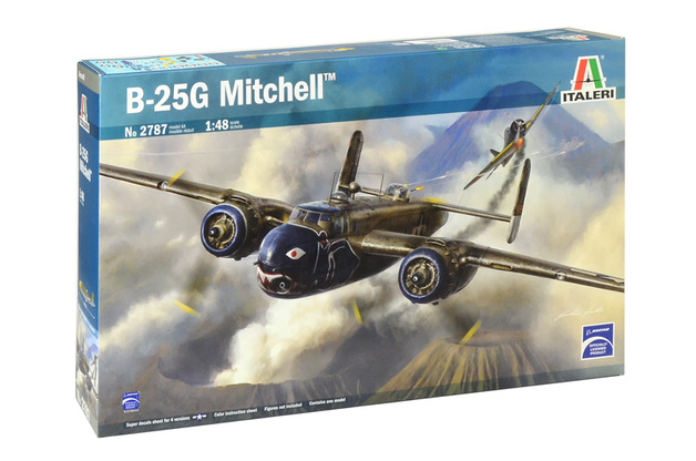 Italeri 1/48 B-25G Mitchell - Model Kit