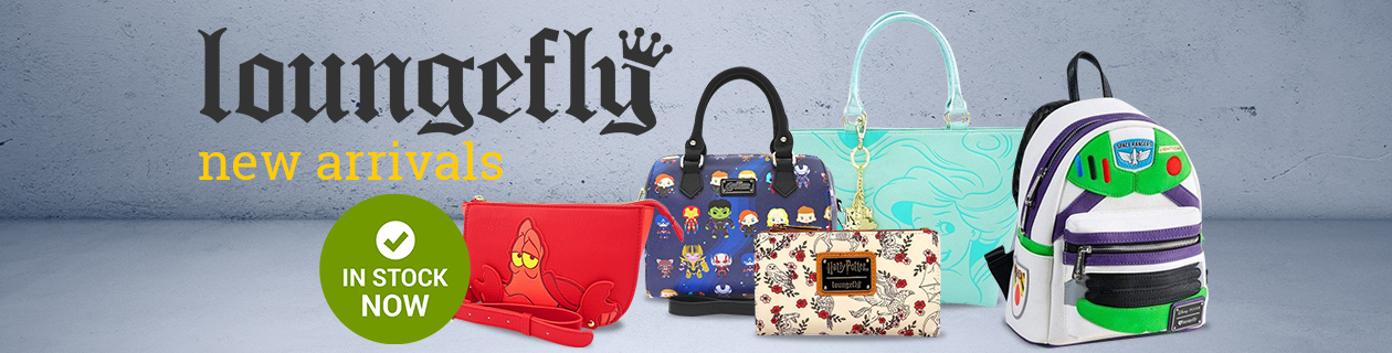 The latest arrivals from Loungefly!