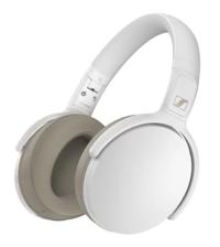 Sennheiser: HD 350BT - Wireless Over-Ear Headphones (White)