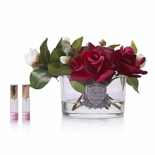 Cote Noire: Rose Bouquet Fragrance Diffuser - Carmine Red