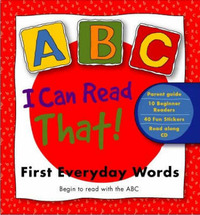 I Can Read That! First Everyda by Macmillan Abc