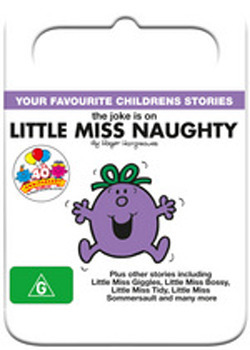 Mr Men & Little Miss: The Joke is on Little Miss Naughty on DVD