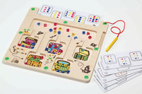 Childfriend - Counting and Sorting Treasure Maze