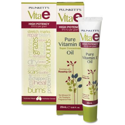 John Plunkett Vitamin E Oil (25mL)