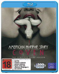 American Horror Story: Coven - The Complete Third Season on Blu-ray image