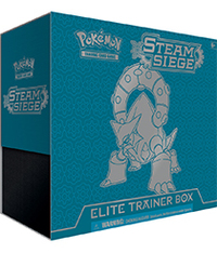 Pokemon TCG XY Steam Siege Elite Trainer Kit