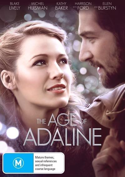 Age Of Adaline on DVD image