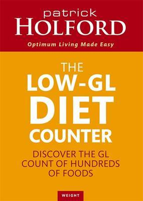 The Holford Diet GL Counter by Patrick Holford image