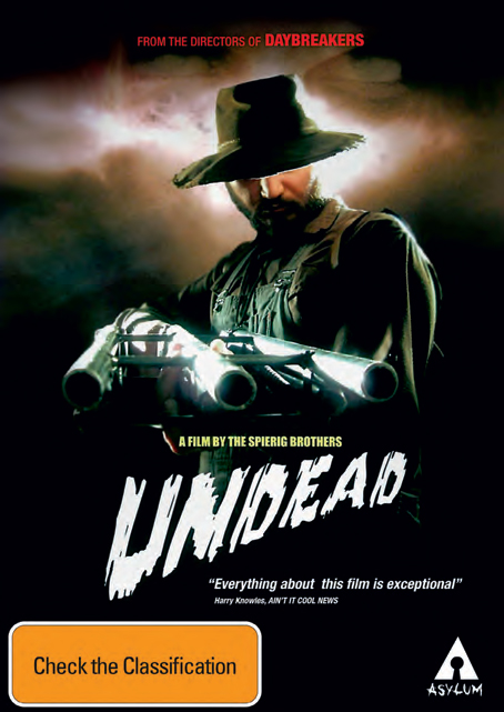 Undead on DVD image