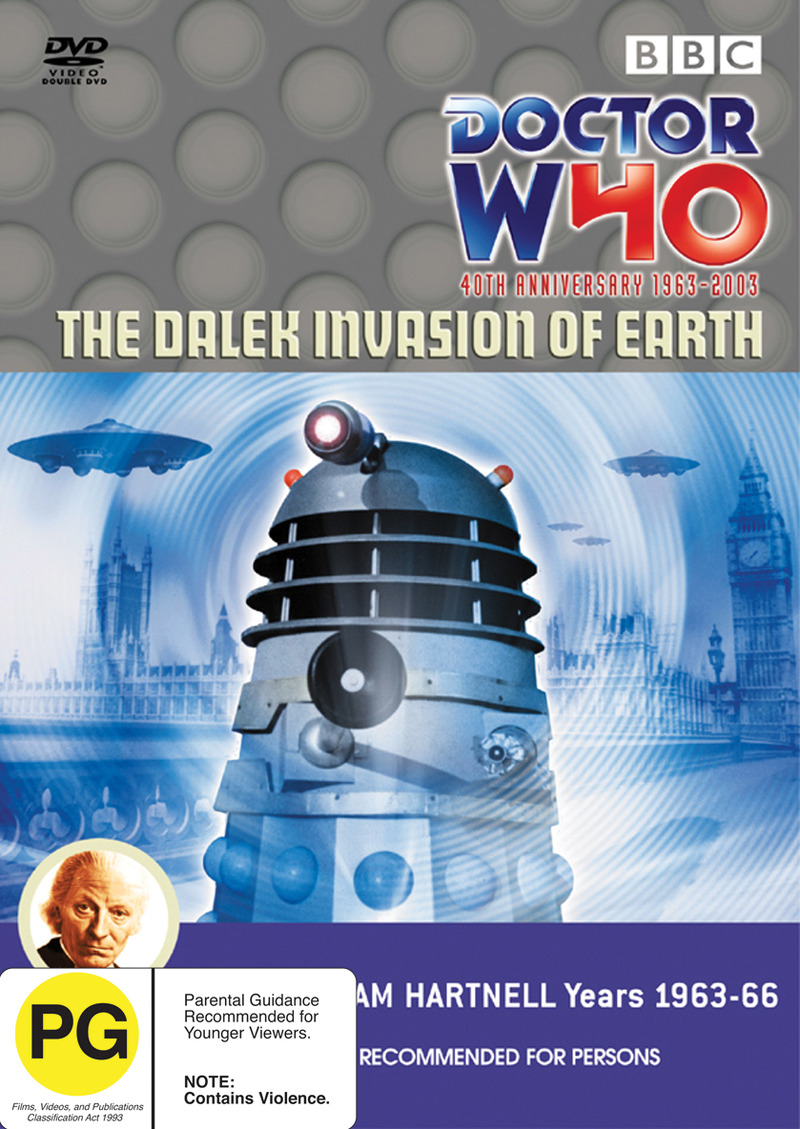 Doctor Who: The Dalek Invasion of Earth on DVD image