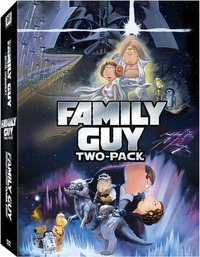 Family Guy: Something, Something, Something Dark Side / Blue Harvest on DVD