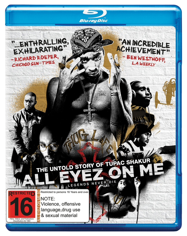 All Eyez On Me on Blu-ray