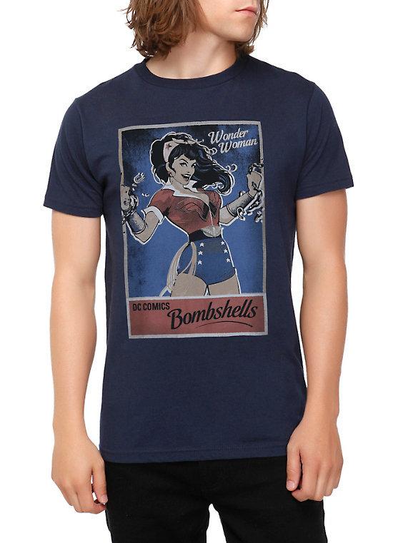 DC Bombshell Wonder Woman Mens Tee - XL image