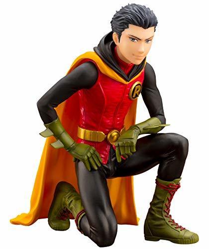 DC Comics: Damian Wayne Robin - PVC Figure (First Production Bonus Ver.)