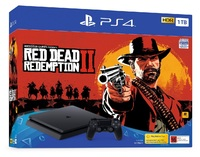 PS4 Slim 1TB Red Dead Redemption 2 Bundle for PS4