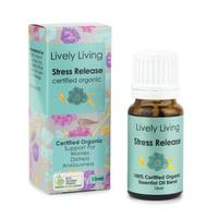 Organic Essential Oil Blend - Stress Release (10ml)
