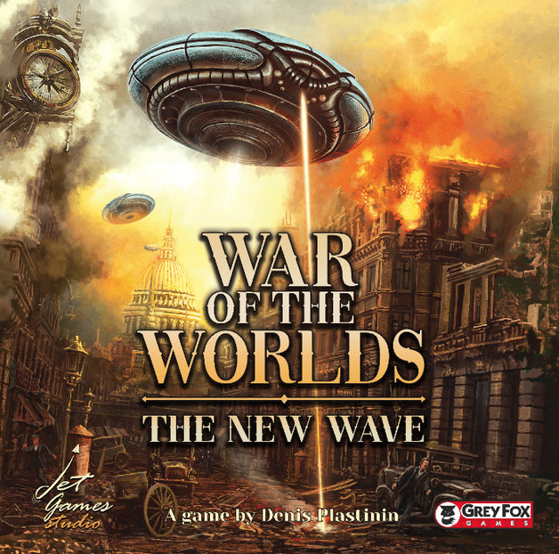 War of the Worlds: The New Wave - Board Game
