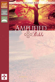Amplified Bible, Bonded Leather, Black by Zondervan Publishing image