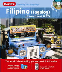 Filipino Berlitz Phrase Book and CD image
