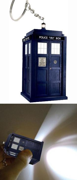 Doctor Who - Tardis Light Up Keyring