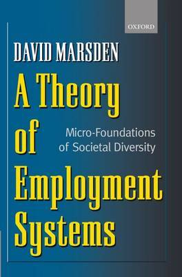 A Theory of Employment Systems by David Marsden image