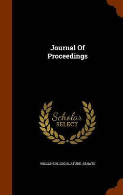 Journal of Proceedings by Wisconsin Legislature Senate image