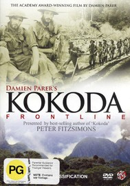 Kokoda Frontline on DVD image