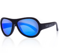 Shadez: Kids Sunglasses Classics - Black (0-3 Years)