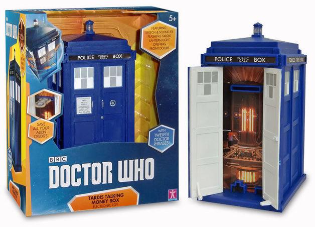 Doctor Who - Talking Tardis Money Box