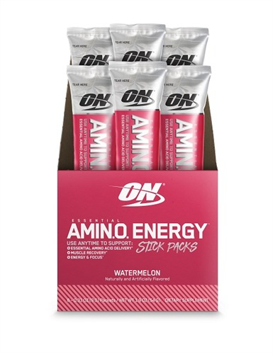 Optimum Nutrition: Amino Energy Drink Stick Pack - Watermelon (6x9g)