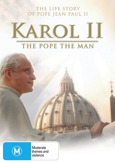 Karol II - The Pope The Man on DVD image