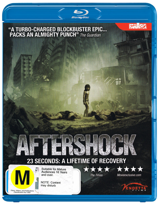Aftershock on Blu-ray