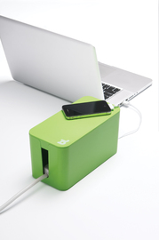 Bluelounge CableBox Mini Cable Management Solution - Green