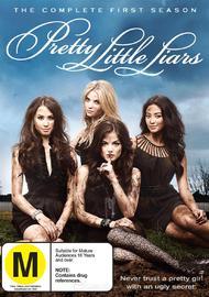 Pretty Little Liars - The Complete 1st Season on DVD