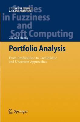 Portfolio Analysis by Xiaoxia Huang
