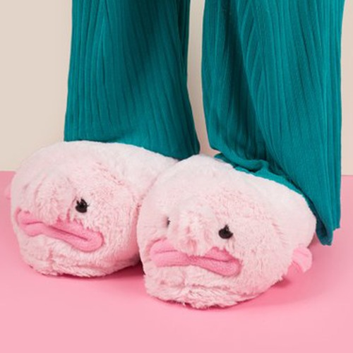 Blobfish slippers images at mighty ape nz for Blob fish plush