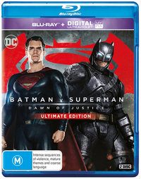 Batman v Superman: Dawn of Justice on Blu-ray