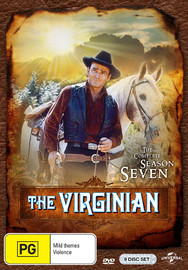 The Virginian - The Complete Season Seven on DVD
