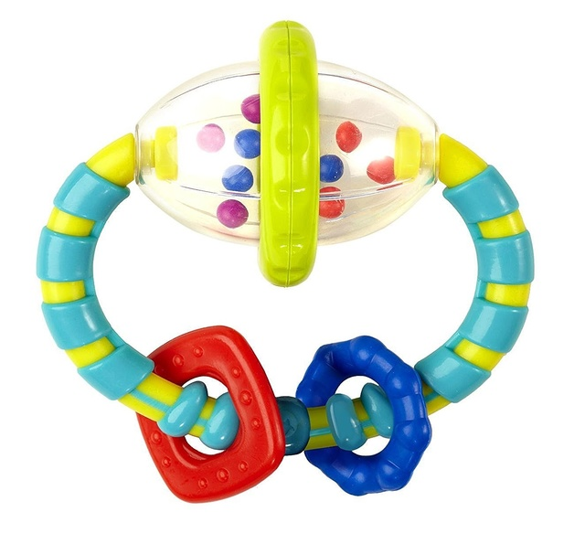 Bright Starts: Grab & Spin Rattle