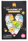 Tiger Tribe: Neon Colouring Set (Glow Friends)