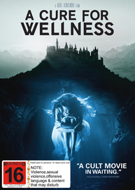 A Cure For Wellness on DVD image