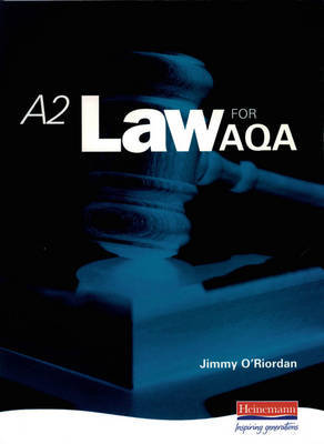 A2 Law for AQA image